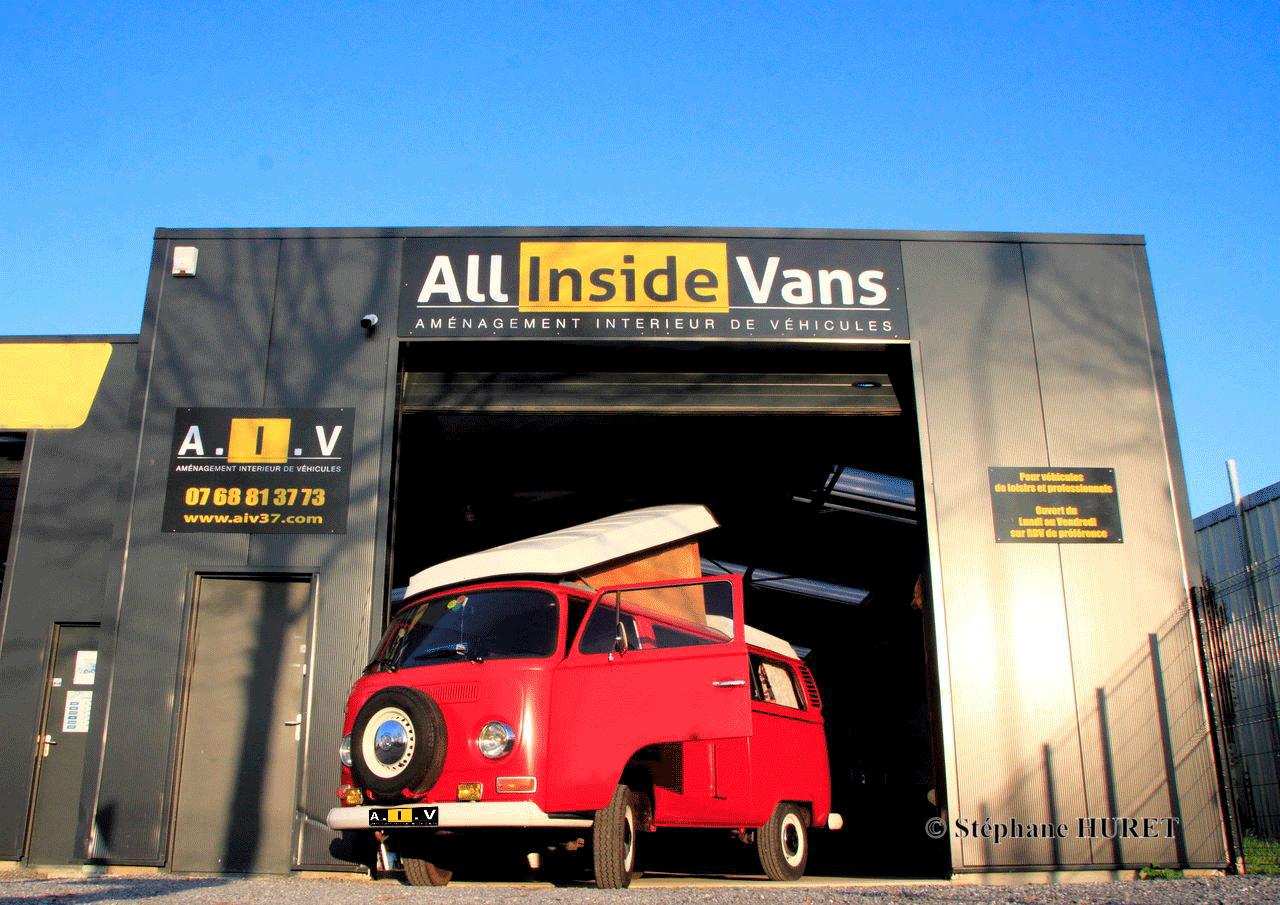 All inside Vans aménageur de véhicules